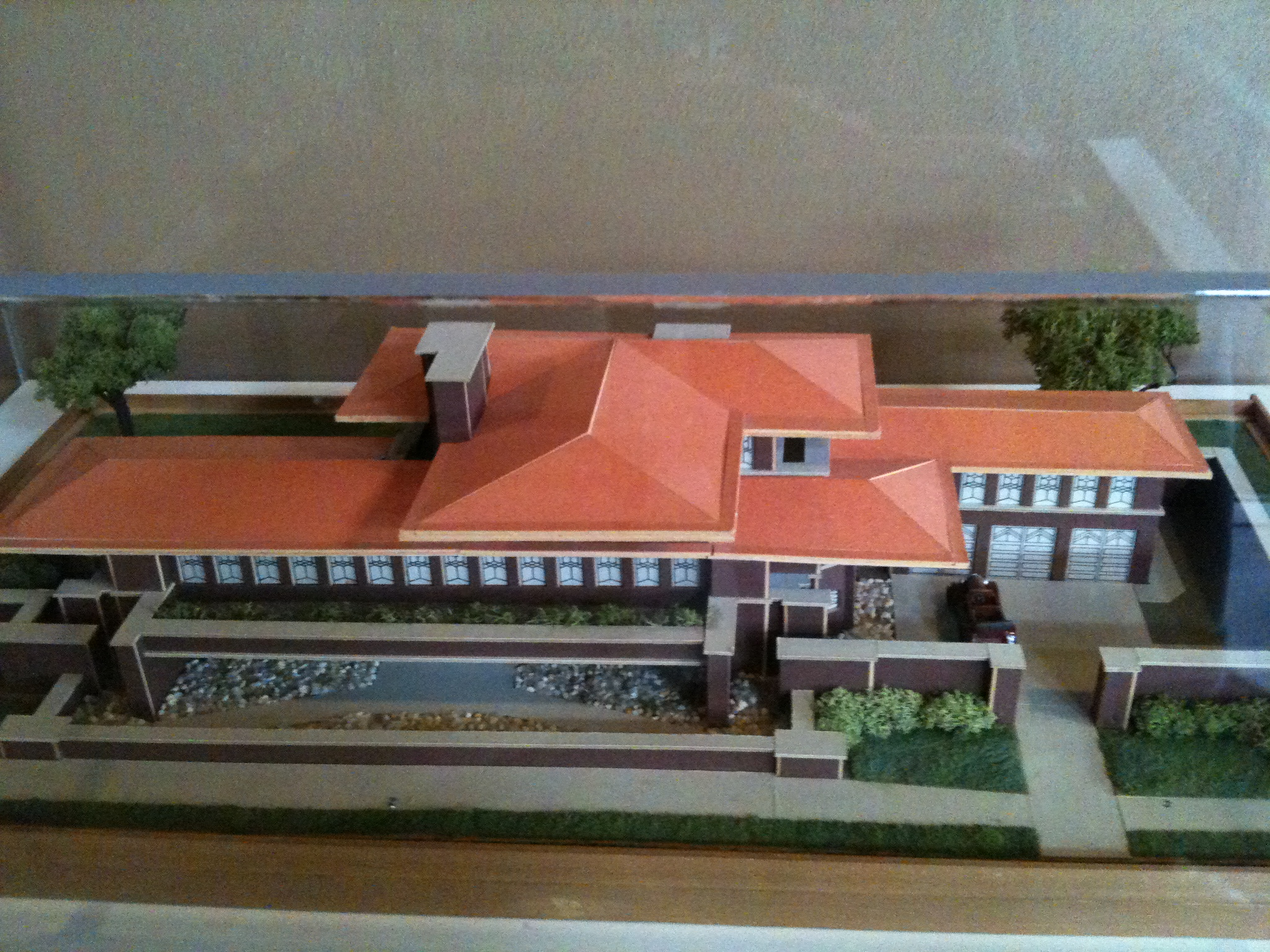 Model of the robie house