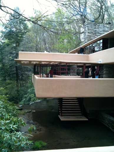 Ask-Me Guide at Fallingwater!