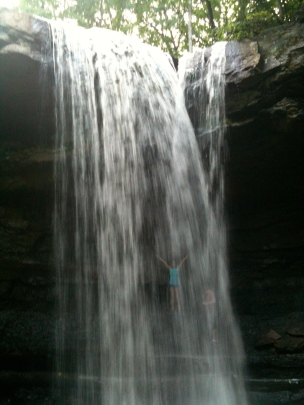 Trip with the fam to Ohiopyle, PA. Cucumber Falls