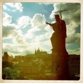 Praha! Took a Czech language class.