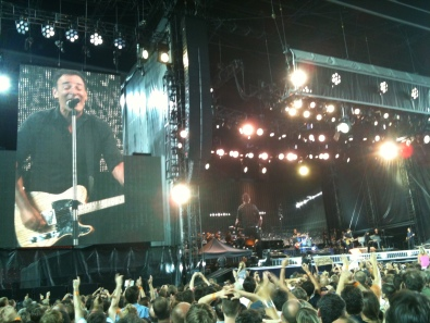 Saw The Boss in Prague. Oh yes